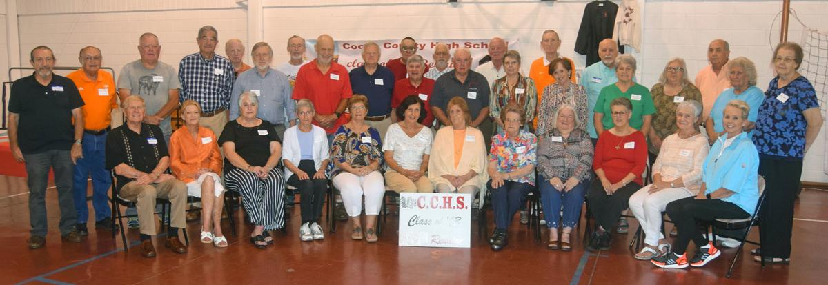 CCHS Class of 1963 gathers for 56-year reunion