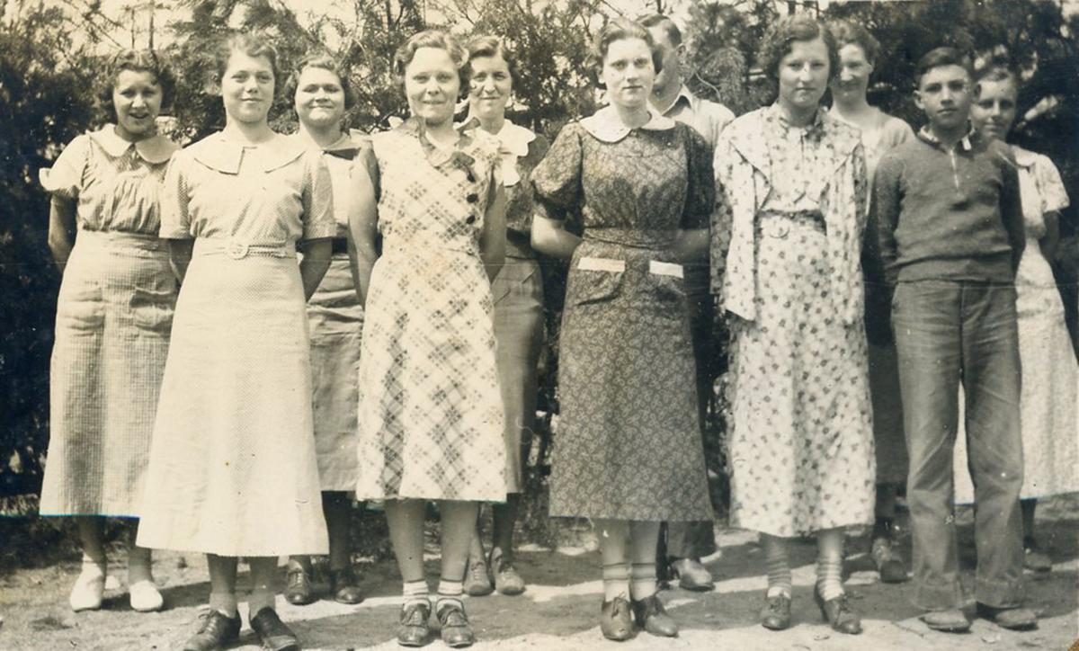 St. James High School in 1936