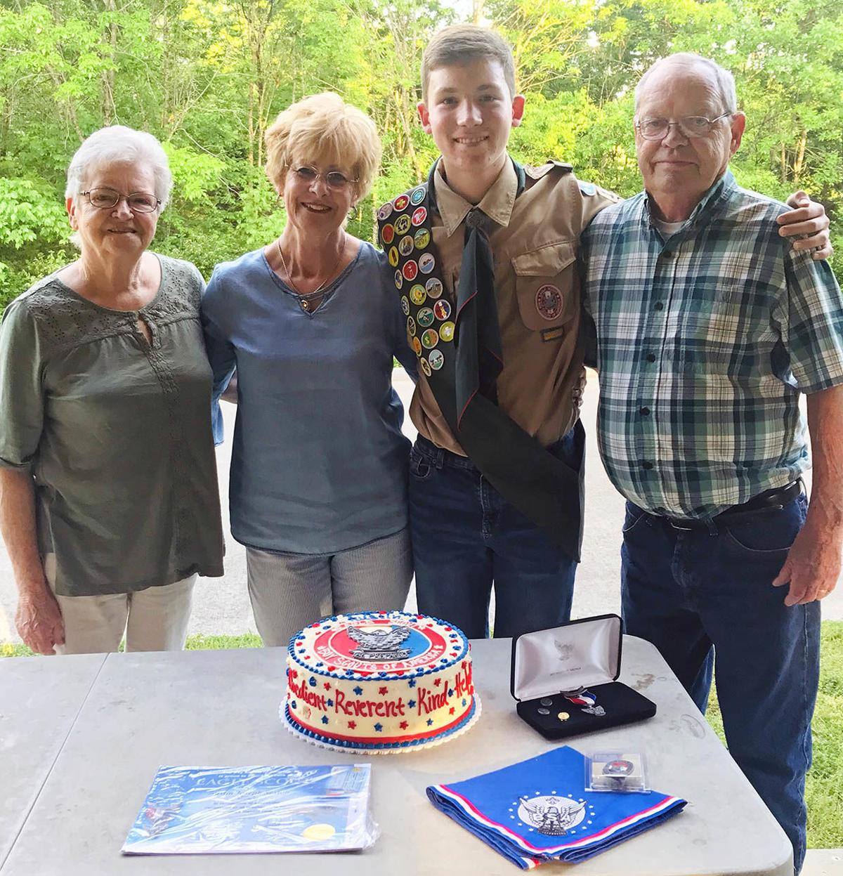 Austin Sexton achieves Eagle Scout rank