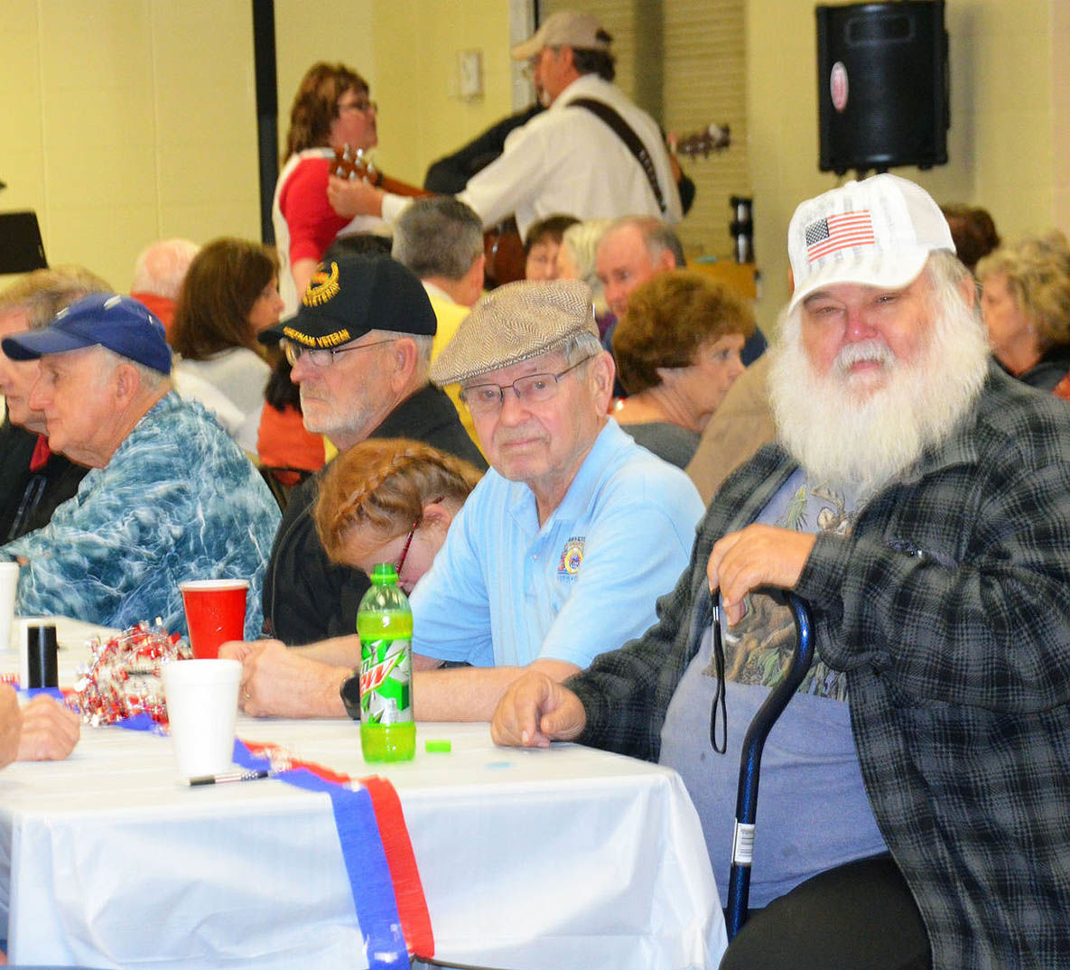 Vets Enjoy a Breakfast and Coffee Social on a Saturday Morning