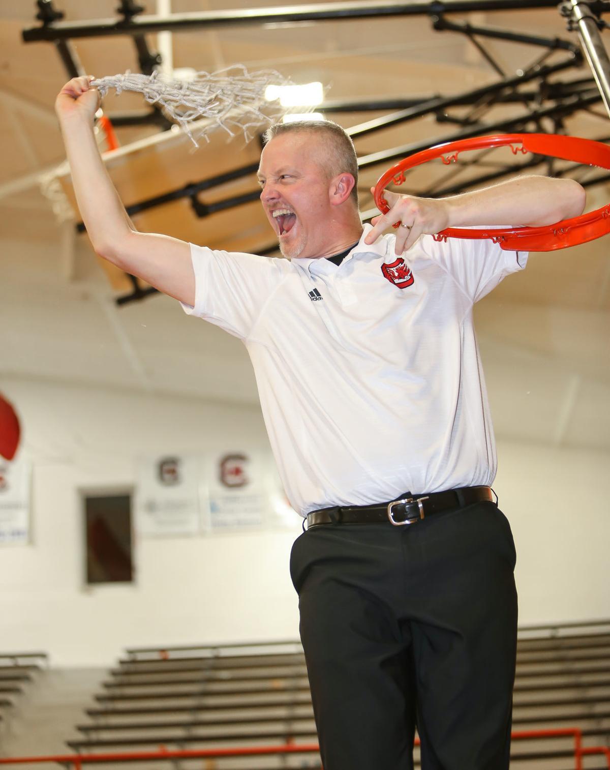 Evans celebrates win (copy)