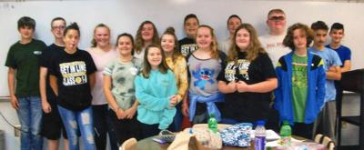 Centerview Sixth Graders honored for good attendance
