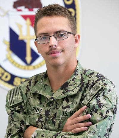 Petty Officer 3rd Class Charles Harris