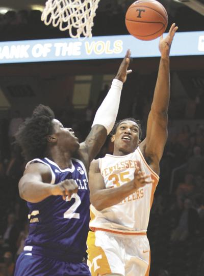 COLLEGE BASKETBALL: Tennessee's Yves Pons vs. UNC Asheville