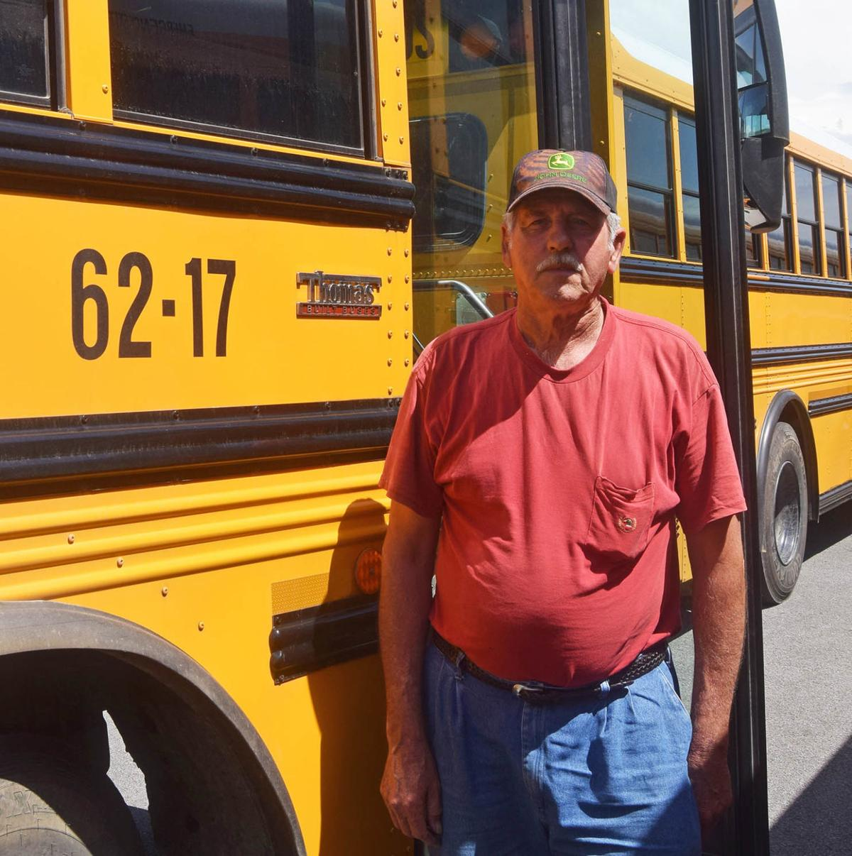Ronald Blazer retiring after 42 years as county bus driver