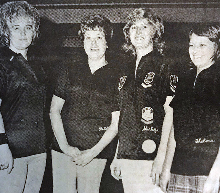 Stokely Van Camp women bowlers
