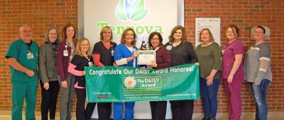 Muzik receives DAISY Award for Extraordinary Nurses