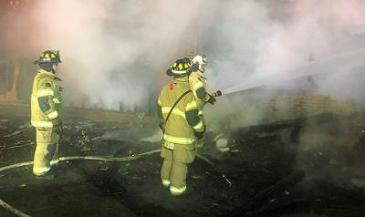 Home destroyed in fire