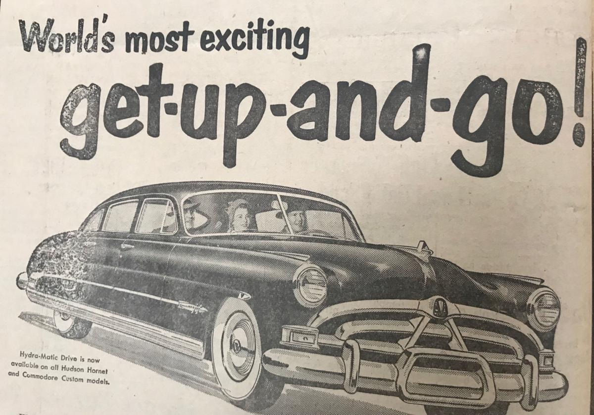 The 1950s Newport had its share of auto dealers and car