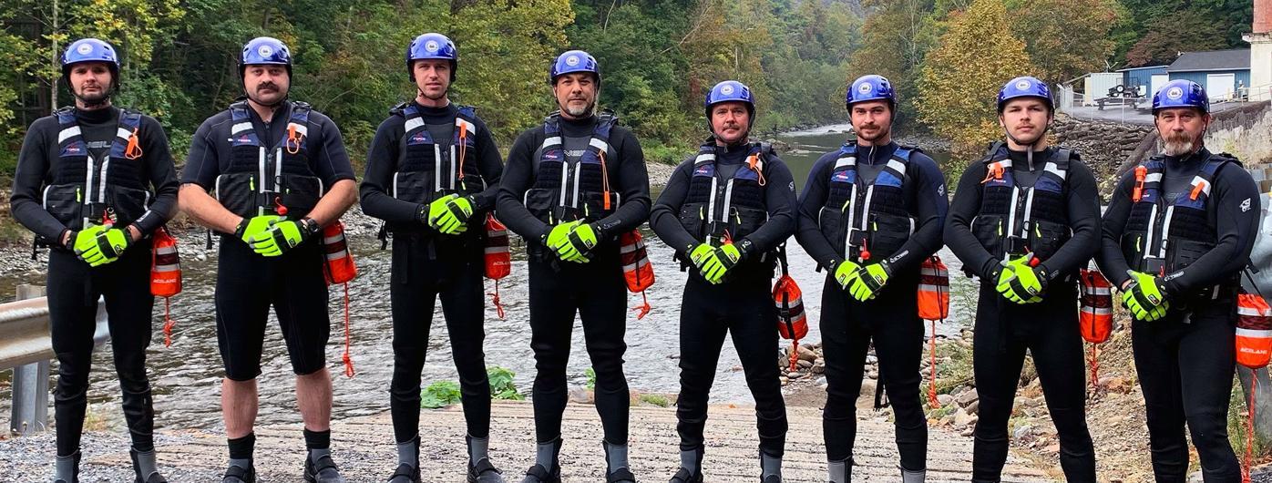 Cocke County Swift Water Rescue Team