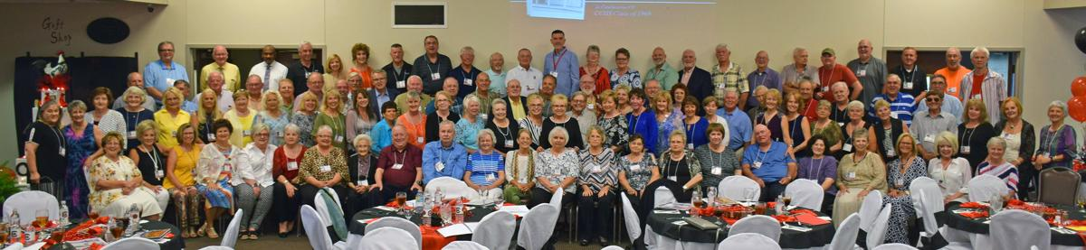 We did it! 102 for the Class of '69's 'The Big 50!'