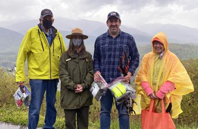Foothills Parkway Clean Up