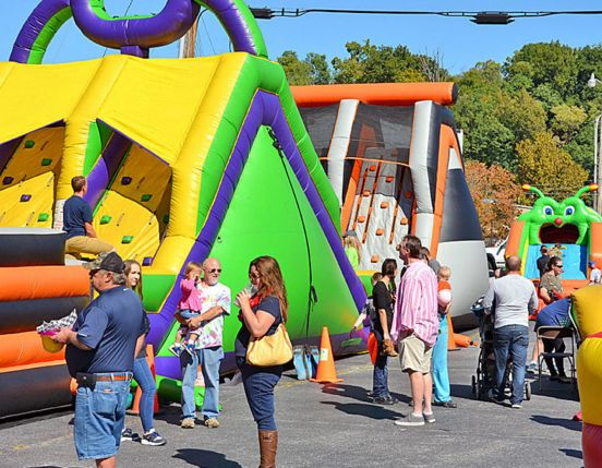 Kiddie Land at Street Festival