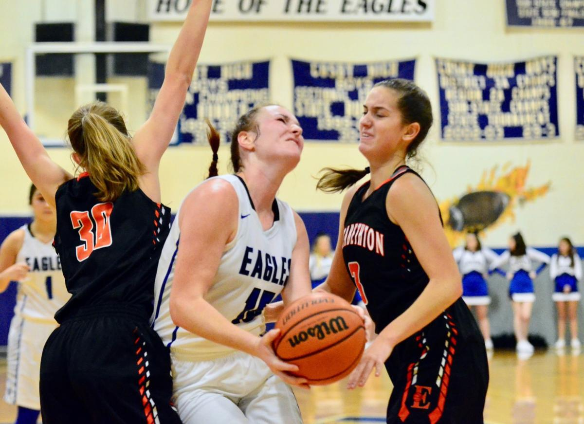 Miller's breakout performance leads Lady Eagles past