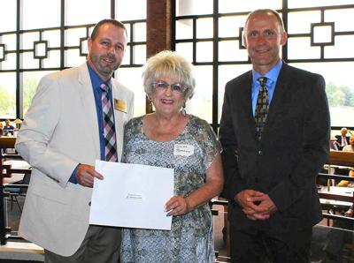 Linda  Branam honored by Walters State