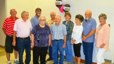 Newport Utilities retirees welcome Peggy Miller to their ranks