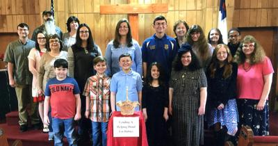 Mulberry Gap Youth help Coins for Life project