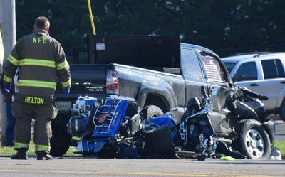 Newport man dies in crash