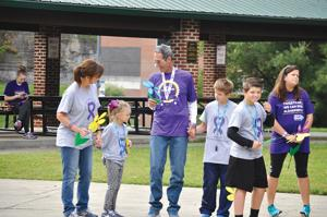 Walking to end Alzheimer's disease