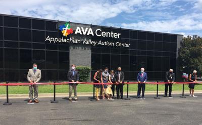 AVA Center ribbon-cutting