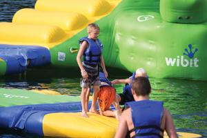 'Rough waters' don't hinder marina's success at Fishtrap