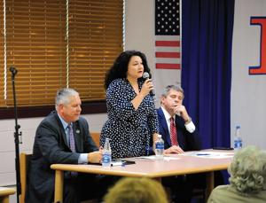 Representatives discuss state employee pensions at forum