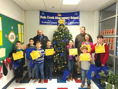 Feds Creek's 'Students of the Month' for November