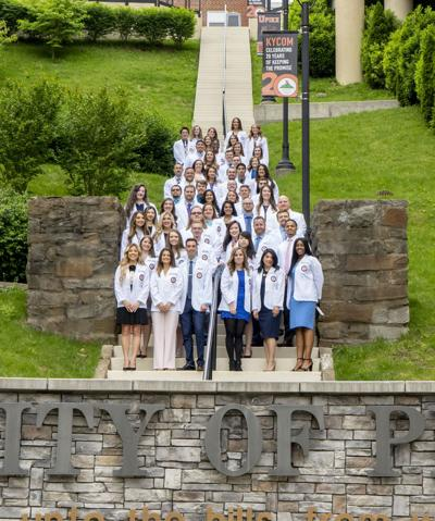 KYCO's Class of 2021 receives symbolic white coat