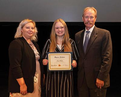 PHS student graduates from 2019 Class of Rogers Scholars