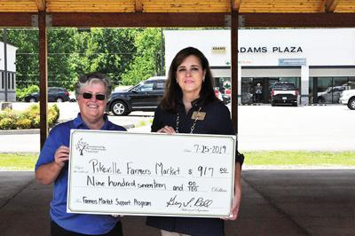 Pikeville Farmer's Market giving senior vouchers