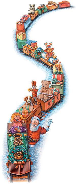 Santa Train preparing for 77th annual run