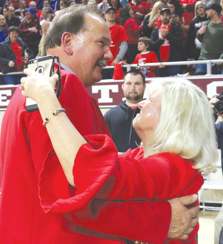 Coach Hicks says goodbye