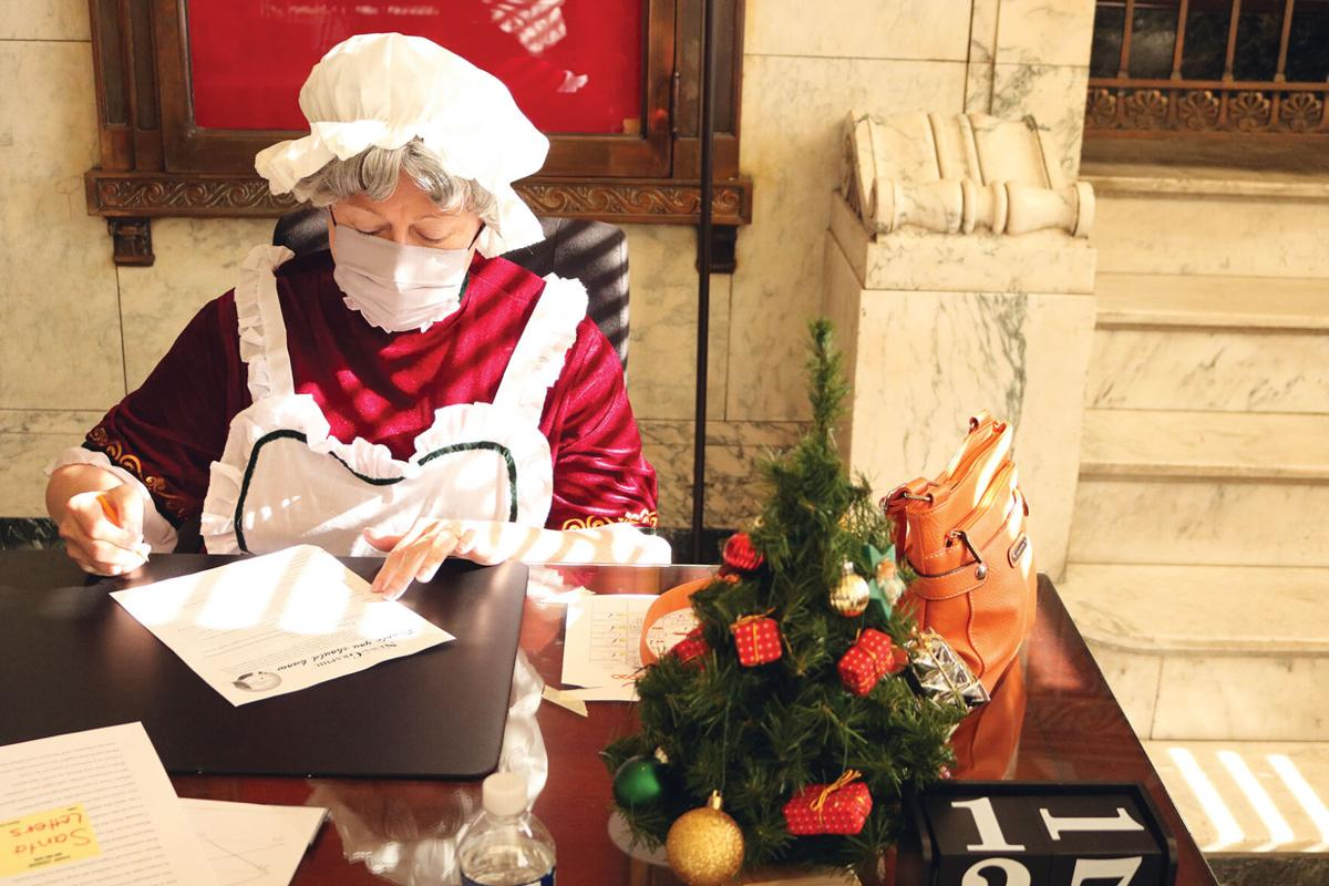 Mrs. Claus prepares for holiday events