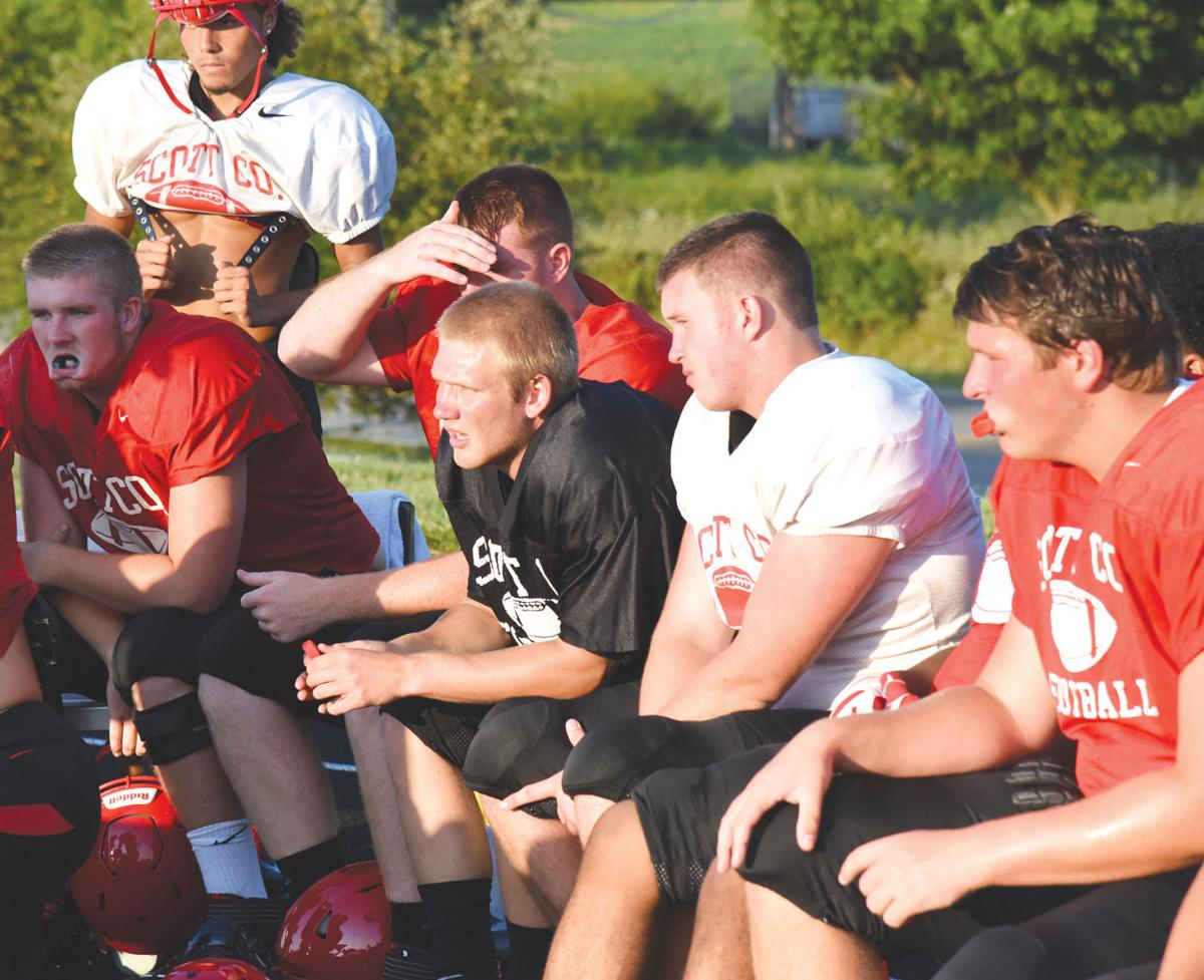 H.S. football: Cards keep with tradition at Red/White showcase