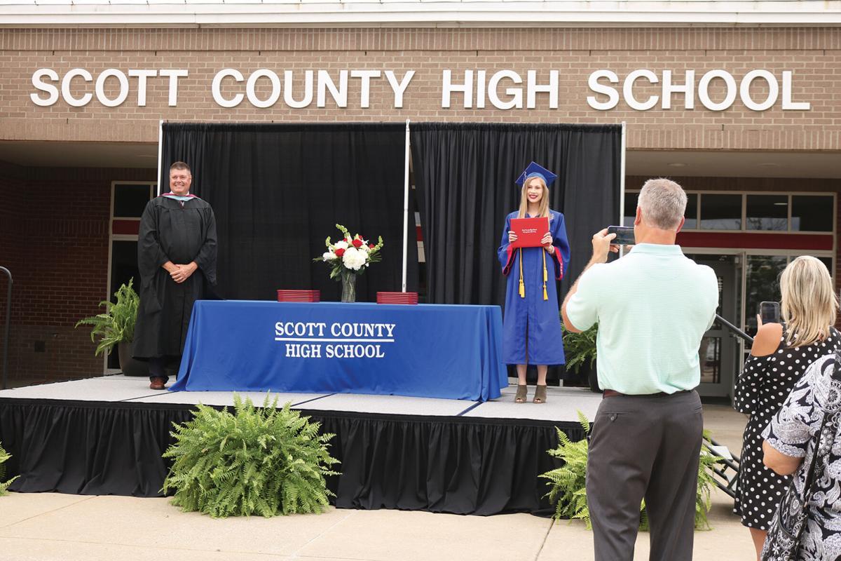 Class of 2020: SCS graduate in-person
