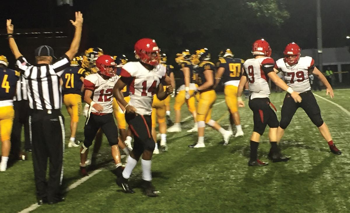 H S  football: Scott County wins one for the ages at Moeller