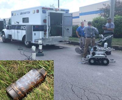 Bomb robots