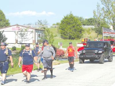 Firefighter walk