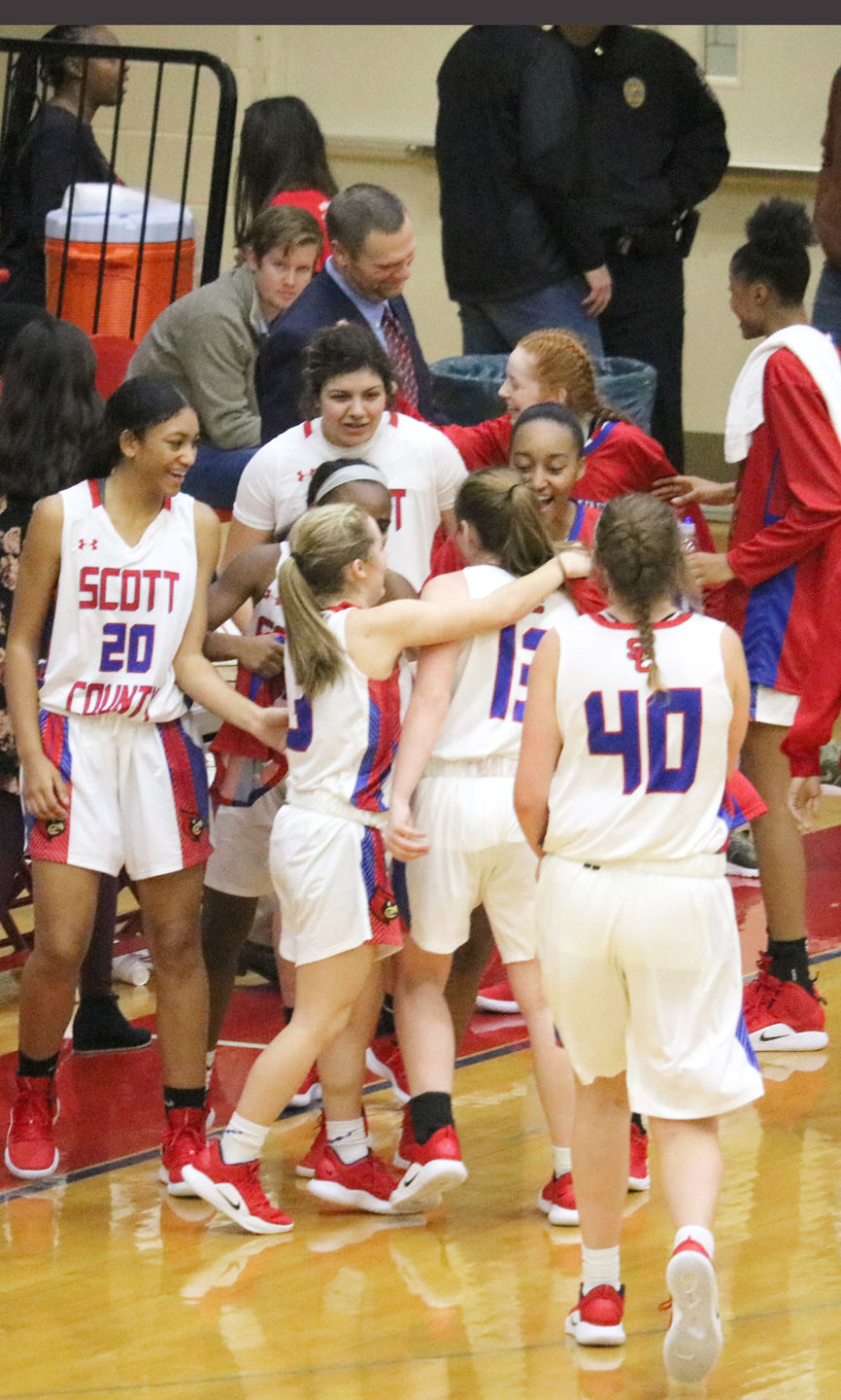 Girls' basketball: Scott County scores 100 points for first time since 2007