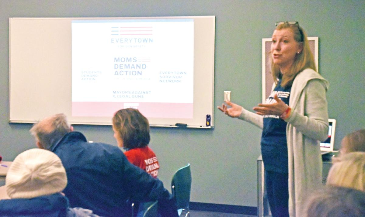 Moms Demand Action local chapter emphasizes the need for gun safety