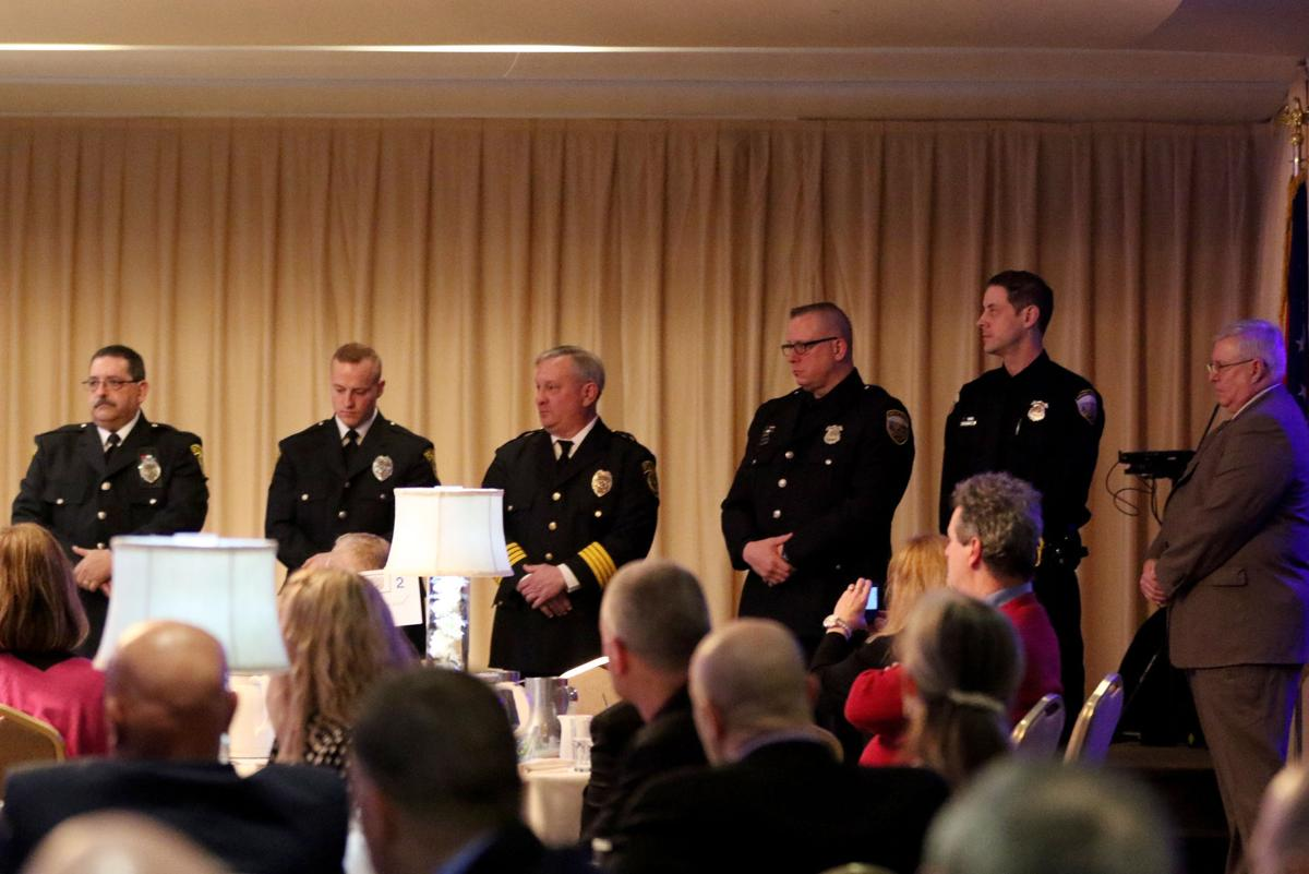 Four police officers honored at 52nd Annual Lake County Blue Coats
