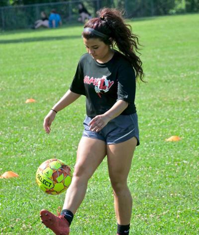 Lady Redskins return to practice field