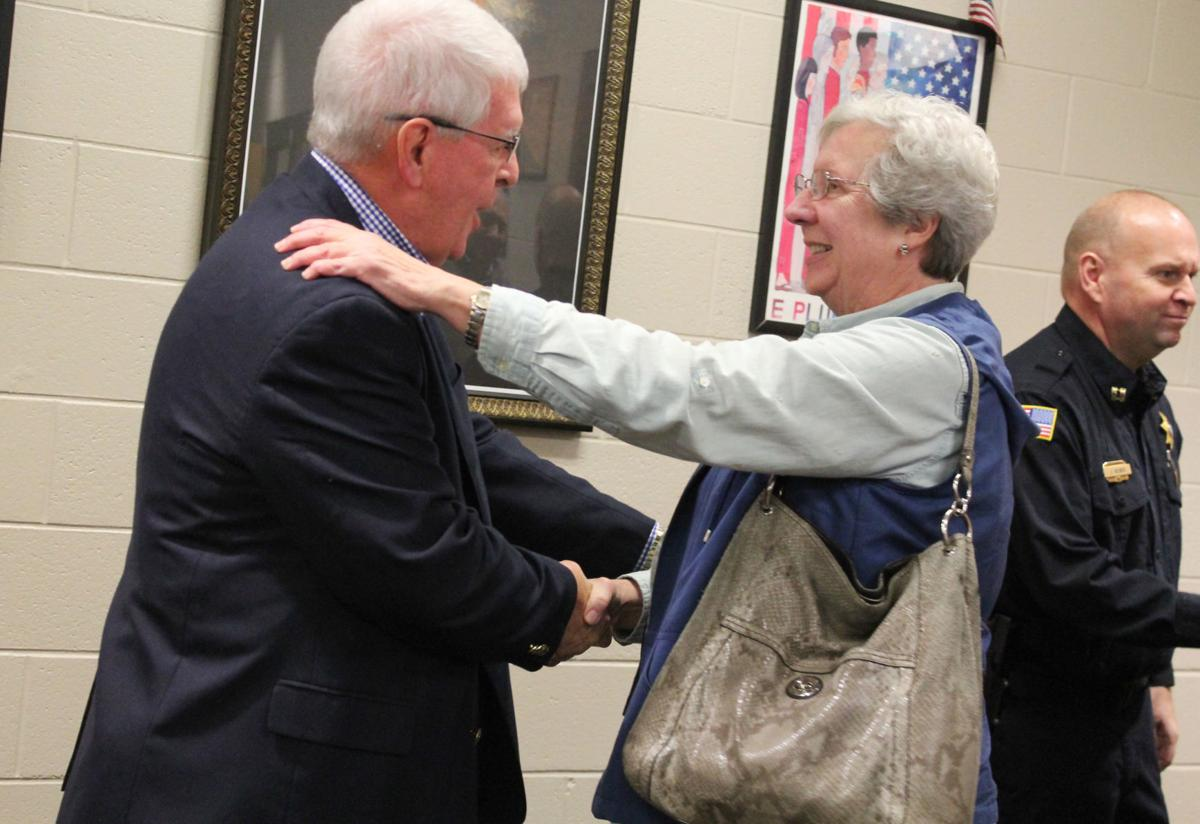 Meers honored at Highland Park