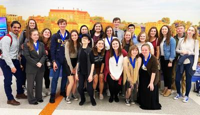 LCHS students take history titles