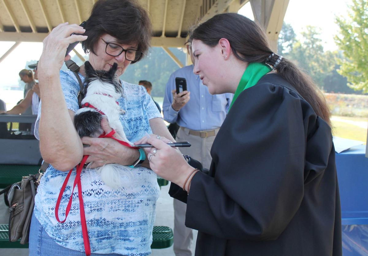 Village churches bless family pets