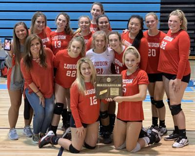 Lady Redskins sweep district tournament