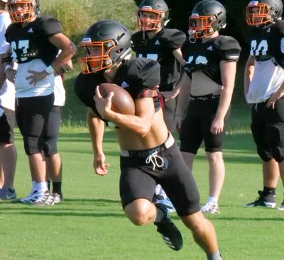 Panthers flash in Clinton scrimmage
