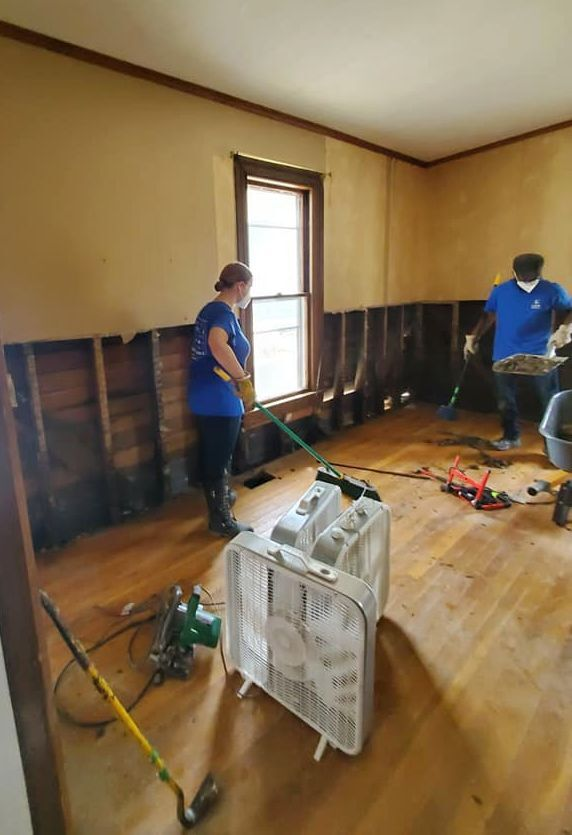 Churches provide disaster relief