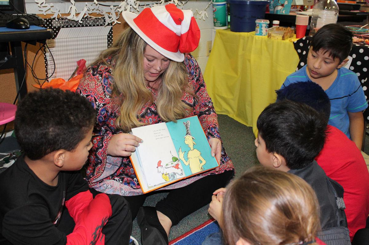 Seuss 'put fun into reading'