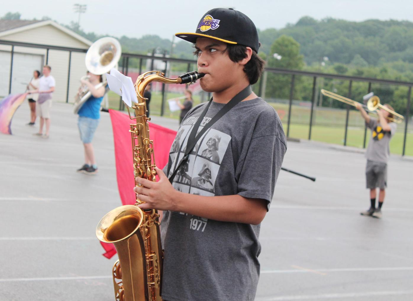 School bands gear up for year